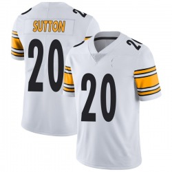 Nike Cameron Sutton Pittsburgh Steelers Youth Limited White Vapor Untouchable Jersey