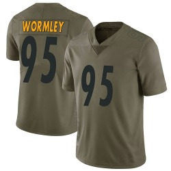 Nike Chris Wormley Pittsburgh Steelers Youth Limited Green 2017 Salute to Service Jersey