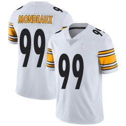 Nike Henry Mondeaux Pittsburgh Steelers Youth Limited White Vapor Untouchable Jersey