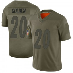 Robert Golden Pittsburgh Steelers Youth Limited Gold Camo 2019 Salute to Service Jersey