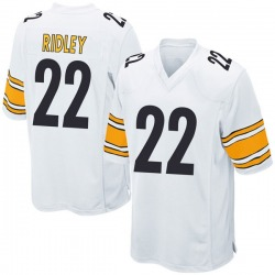 Nike Stevan Ridley Pittsburgh Steelers Men's Game White Jersey