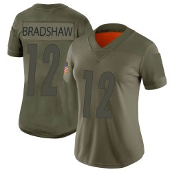 Nike Terry Bradshaw Pittsburgh Steelers Women's Limited Camo 2019 Salute to Service Jersey