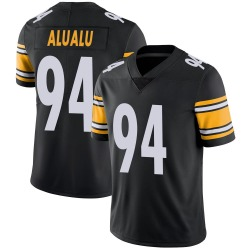 Nike Tyson Alualu Pittsburgh Steelers Youth Limited Black 100th Vapor Jersey