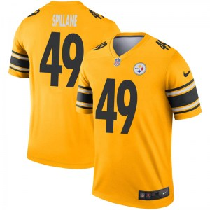 Nike Robert Spillane Pittsburgh Steelers Youth Legend Gold Inverted Jersey
