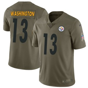 Nike James Washington Pittsburgh Steelers Youth Limited Green 2017 Salute to Service Jersey